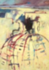 Detlev Foth, Figurenbild, Ölbild, Kunst, Düsseldorf, Kinder, Spielplatz