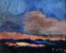 Detlev Foth, Horizonte, Moor, Landschaften, Kleinformatige Bilder, Ölmalerei, Künstler in Düsseldorf