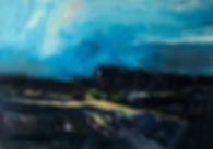 Landschaften, Öl auf Leinwand, Detlev Foth, Landschaftsmaler, Düsseldorf, Künstler in Düsseldorf, Art Düsseldorf, Zeitgenössische Kunst, Ölmalerei, Wald, Ferne