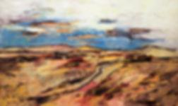 Landschaften, Öl auf Leinwand, Detlev Foth, Landschaftsmaler, Düsseldorf, Künstler in Düsseldorf, Art Düsseldorf, Zeitgenössische Kunst, Ölmalerei, Sanddünen
