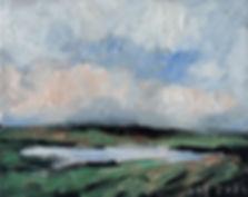Detlev Foth, Horizonte, Landschaften, Öl, Leinwand, Kleinformatige Bilder, Ölmalerei, Künstler in Düsseldorf