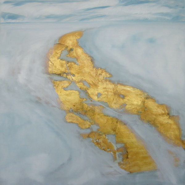 Landschaft, Gold, Ioana Luca