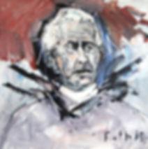 Portätmalerei, Ölbild, Porträt, Detlev Foth, Maler, Düsseldorf