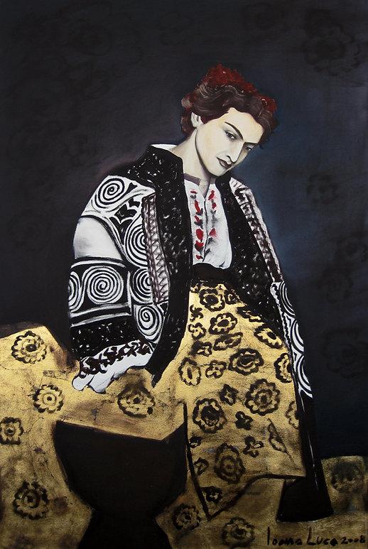 Frauenporträt, Ioana Luca
