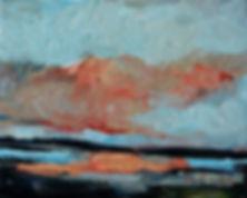 Detlev Foth, Landschaften, Öl, Leinwand, Flussbett, Flusslandschaft, Malerei, Künstler in Düsseldorf