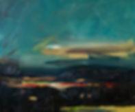 Landschaften, Öl auf Leinwand, Detlev Foth, Landschaftsmaler, Düsseldorf, Künstler in Düsseldorf, Art Düsseldorf, Zeitgenössische Kunst, Ölmalerei, Horizonte