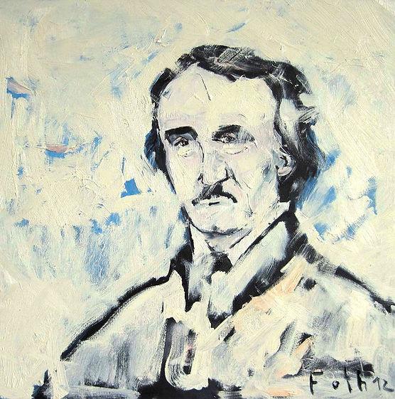 Detlev Foth, Porträtmaler Düsseldorf, Kopf eines Mannes, Ölbild, Gemälde, Porträtmalerei