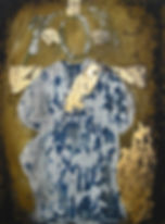 triptychon, ioana luca, ölbild auf holz