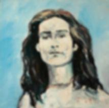 Detlev Foth, Porträtmaler Düsseldorf, Mickey Finn Portrait, Öl auf Leinwand, Porträtauftrag Düsseldorf, Ölbild, Gemälde