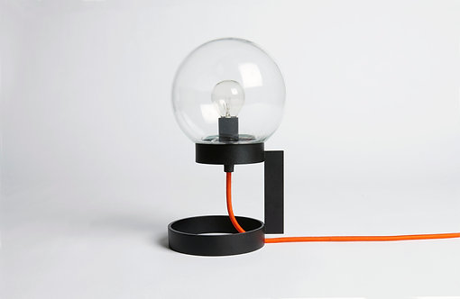 1015002 Pixi - black / clear / orange