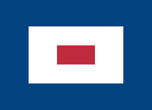 Signalflag W