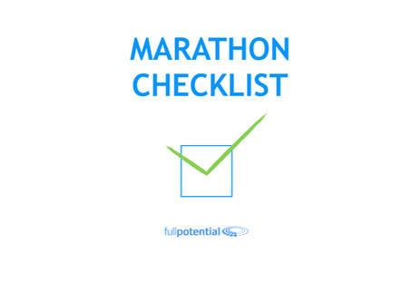 6 to 8 weeks until your marathon - where should your training be?