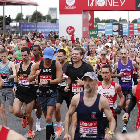 What to do after your marathon