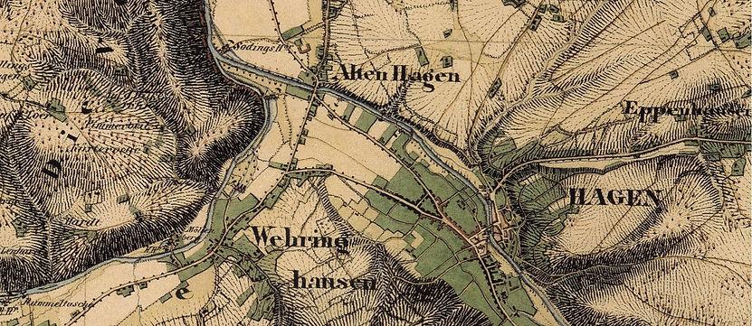Karte Hagen Innenstadt Elberfelderstrass
