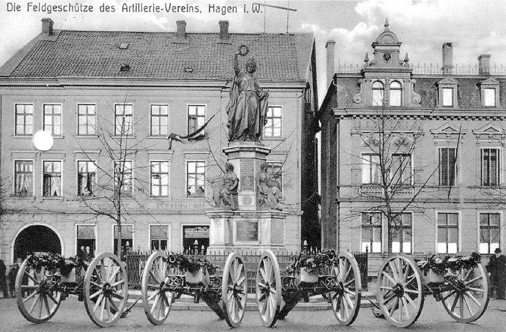 Das 1875 eingeweihte Denkmal der Germani