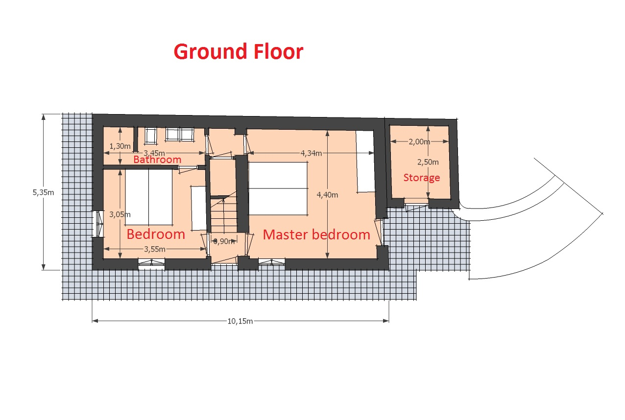 Map Fienile ground floor