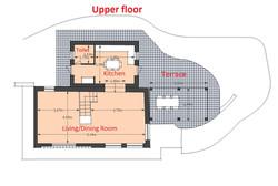 Map Fienile upper floor