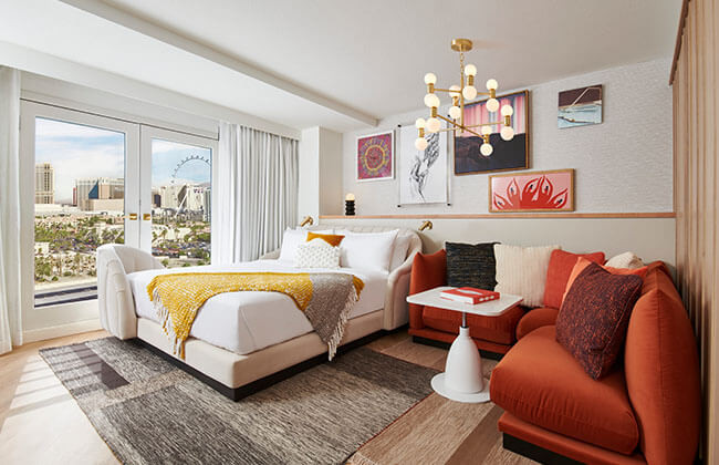 Chambre Virgin Hotels Las Vegas
