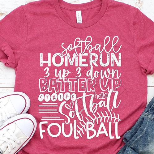 Softball Tee