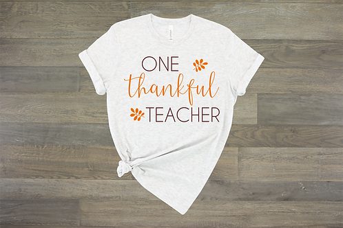 One Thankful Teacher