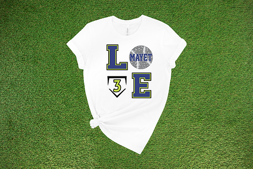 Baseball Love, custom