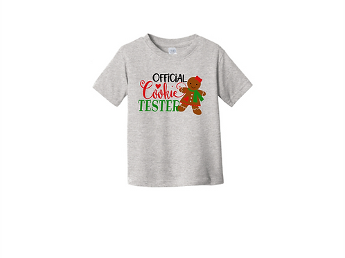 Official Cookie Tester Kids Tee