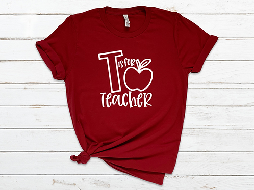 T is for Teacher Tee