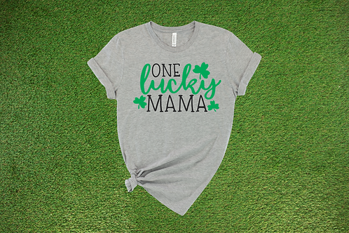 One Lucky Mama Tee