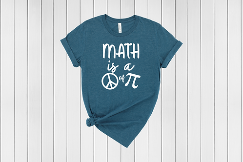 Math is a piece of Pie Tee