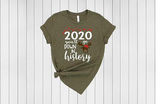 2020 You'll Go Down in History Tee