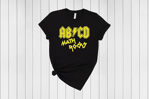 ABCD Math Rocks Tee