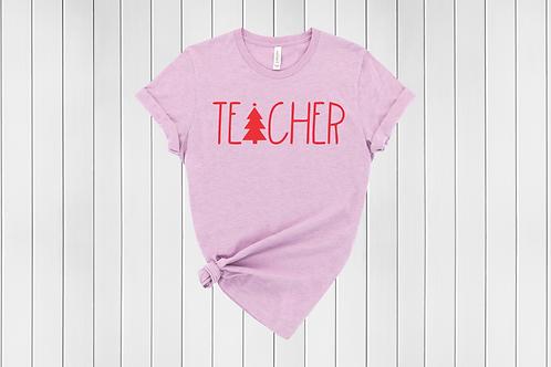 Teacher Christmas Tee