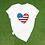Thumbnail: Flag Heart Tee