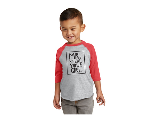 Mr. Steal Your Girl Raglan