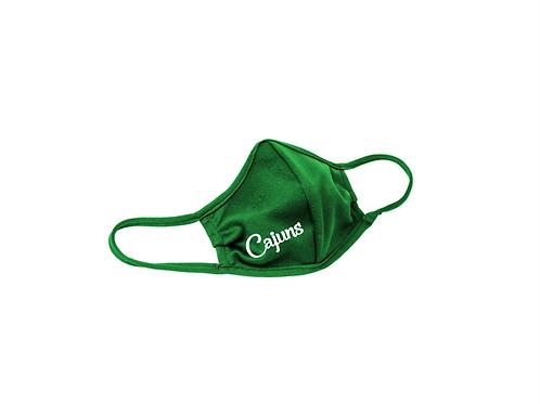 Chackbay Cajuns Kelly Green Mask