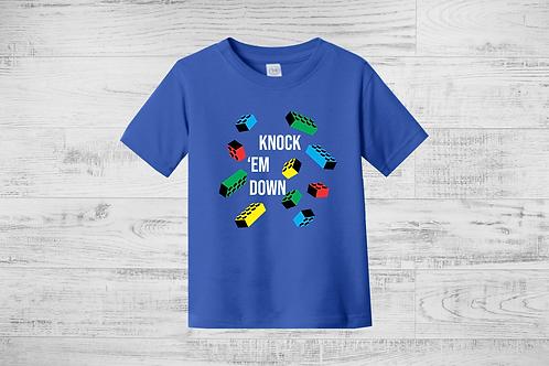 Knock 'em Down Lego Tee