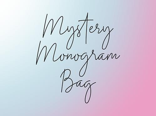 LONG SLEEVE Mystery Monogram Bag