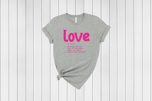 Definition of Love Tee