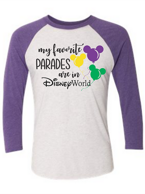 Parades in Disney Tee