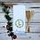 Thumbnail: Green Wreath Kitchen Towel