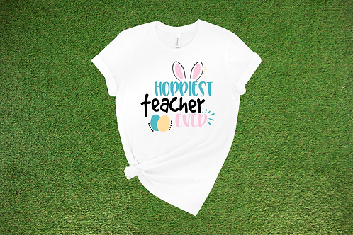 Hoppiest Teacher Ever Tee
