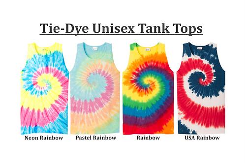 Tie-Dye Unisex Tank Top (plain)