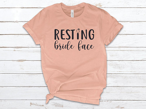 Resting Bride Face Tee