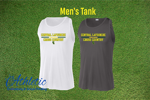 Men's Polyester Tank Cross Country