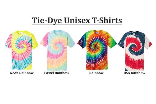 Tie-Dye Unisex T-shirts (plain)