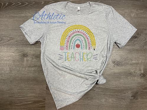 Teacher Rainbow -sublimation