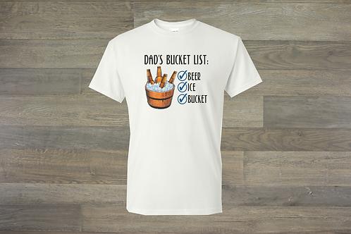 Dad's Bucket List Tee