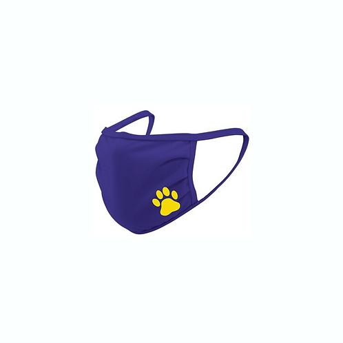 WSL Purple Mask with Paw Print
