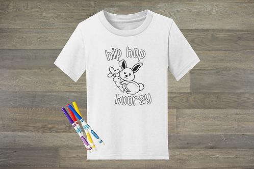 Hip Hop Hooray Coloring Shirt