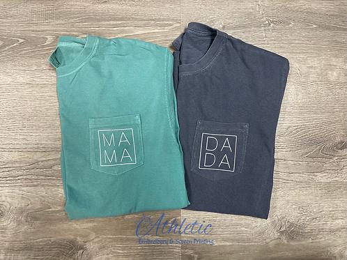 Mama-Dada Pocket Tee